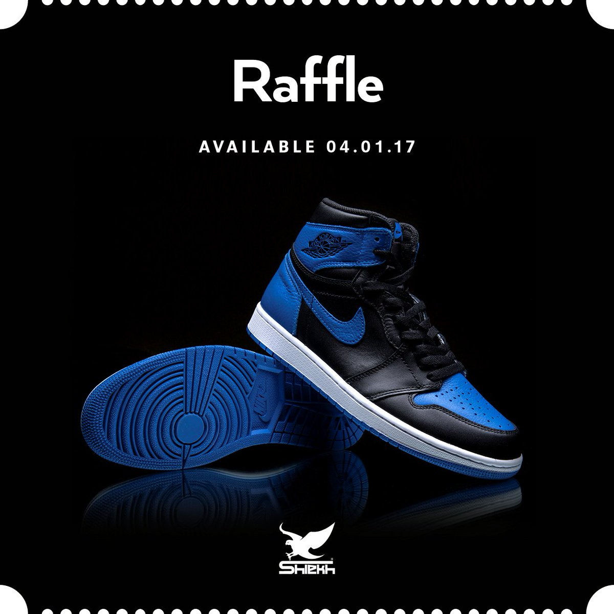 Shiekh On Twitter Hit Up A Location Near You To Enter The Air Jordan 1 Retro Royal Raffle More Details Our Instagram Account