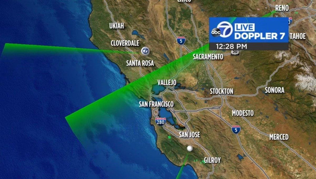 San jose doppler radar map