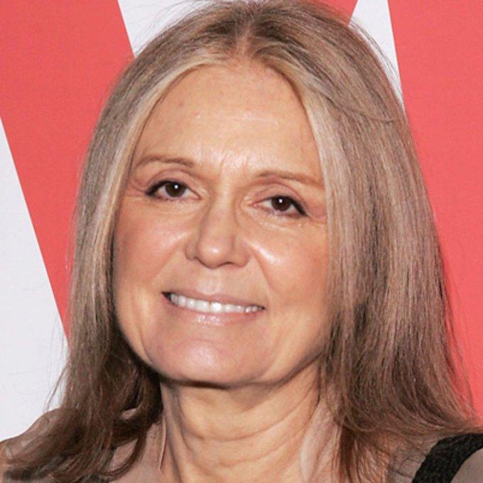 Happy Birthday Gloria Steinem! Thank you!
