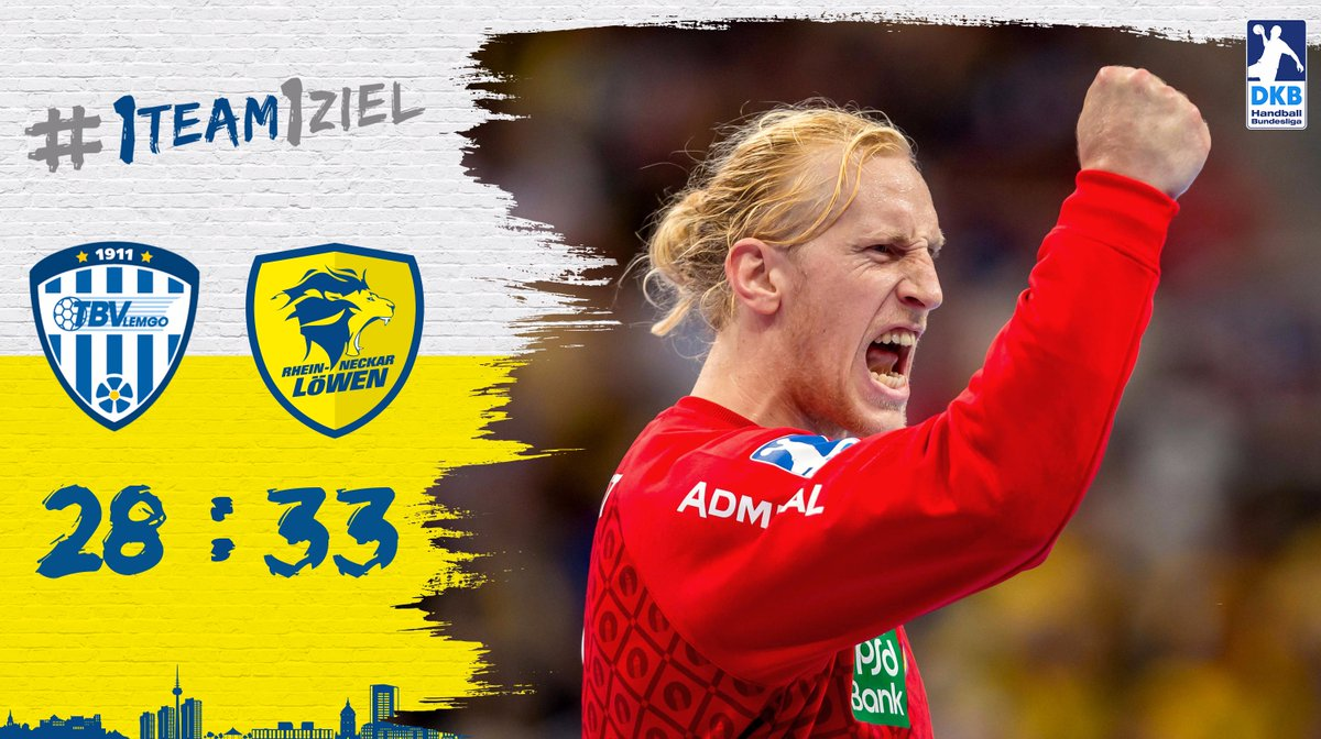 33:28-Sieg beim TBV Lemgo  #1team1ziel  #loewenlive https://t.co/OryNZf1iZG