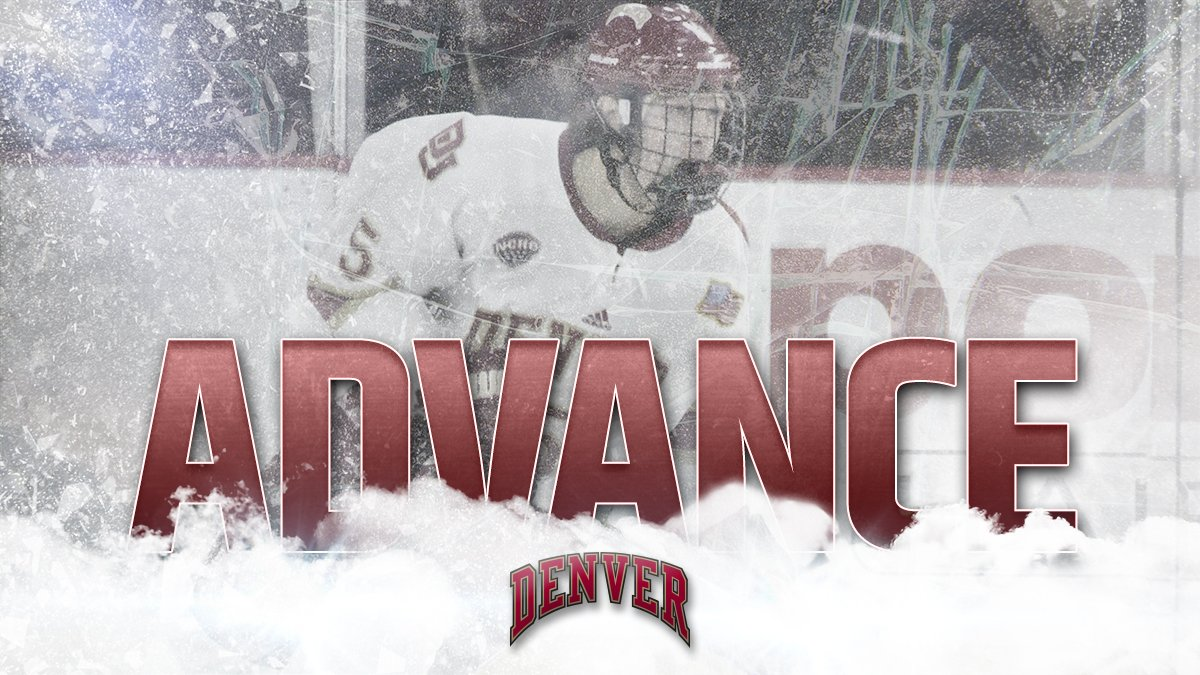 ON TO THE REGIONAL FINALS!!  No. 1 Denver cruises to a 5-2 victory ove...