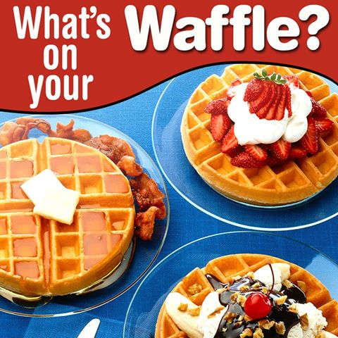 Happy #InternationalWaffleDay! What's your favorite waffle topping? ht...