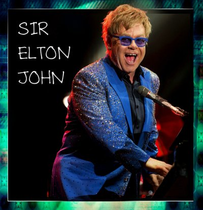 Happy birthday, Sir Elton John! Made this just for you!