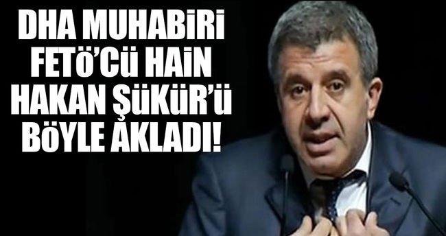 FETÖ'cü Hakan Şükür'ü Doğan Haber Ajansı muhabiri savundu! https://t.c...