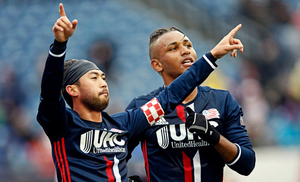 FT: @NERevolution put five past #MNUFC to claim their first win of 201...