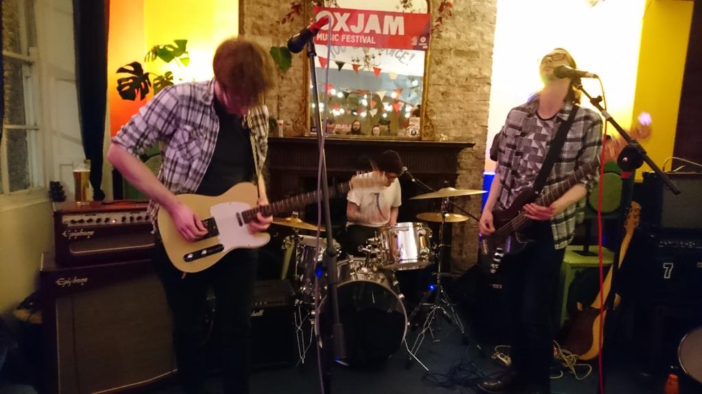 Slurs Live Oxjam Newcastle