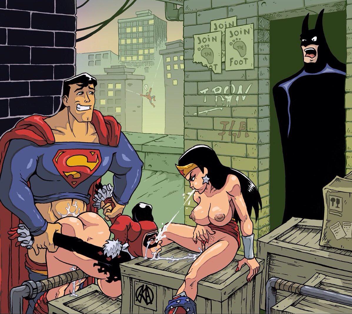 игры с сексом с супергероями - 4