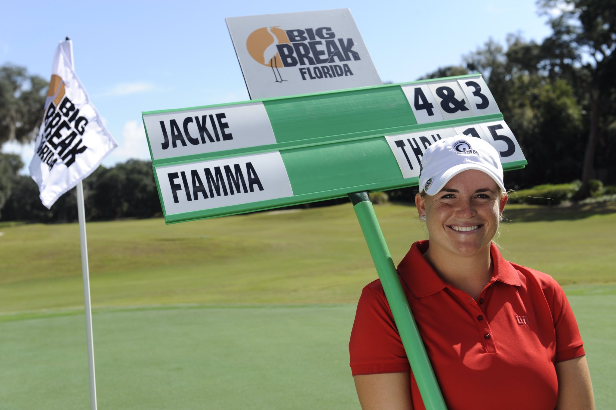 A #BigBreak contestant has never won an @LPGA event; @JackieSGolf who won #BigBreakFlorida begins 3rd rd of @LPGAKiaClassic 3 back of Kerr https://t.co/P45Byhl2Ho
