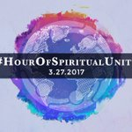 Will you join me Mon. 3/27 after sundown for an #HourOfSpiritualUnity let's meditate, pray, connect to the force of Love & Unity together
