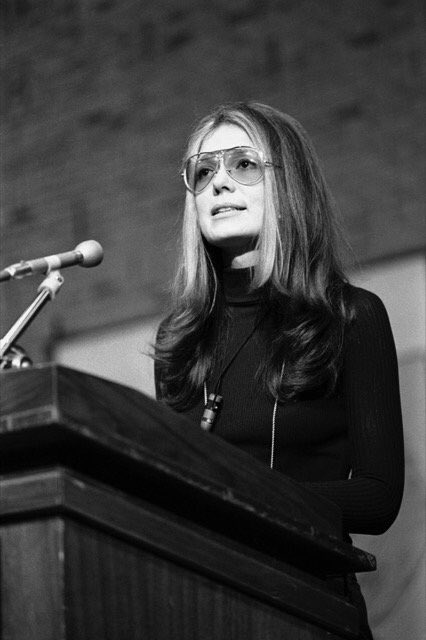 Happy birthday to activist, writer and Women\s March honorary co-chair Gloria Steinem!