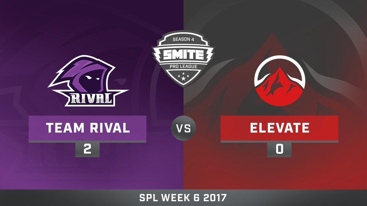 Team Rival vs eLevate