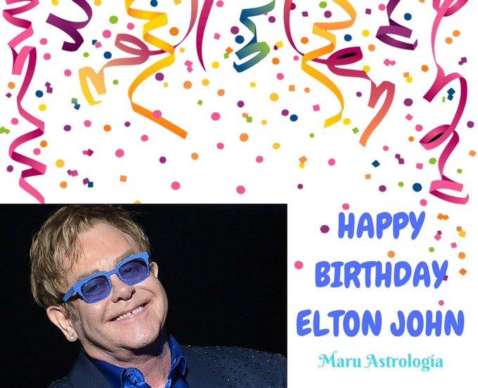 HAPPY BIRTHDAY ELTON JOHN!!!!