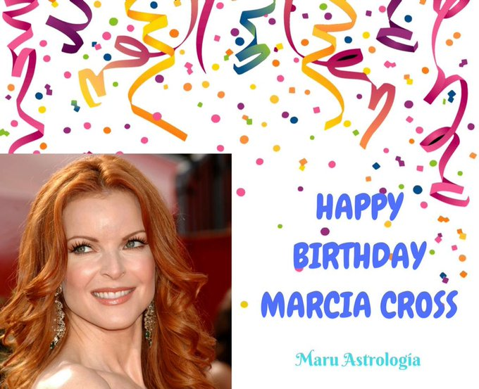 HAPPY BIRTHDAY MARCIA CROSS!!!!