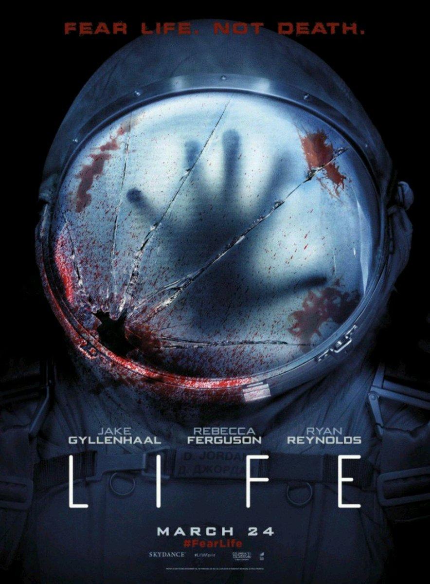 #NowScreening #LIFE2017 #JakeGyllenhaal,#RyanReynolds,#RebeccaFerguson...