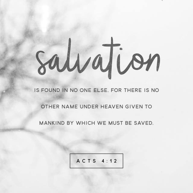 This is where salvation is found!  #saturdaynight #Bible #lifechurch h...