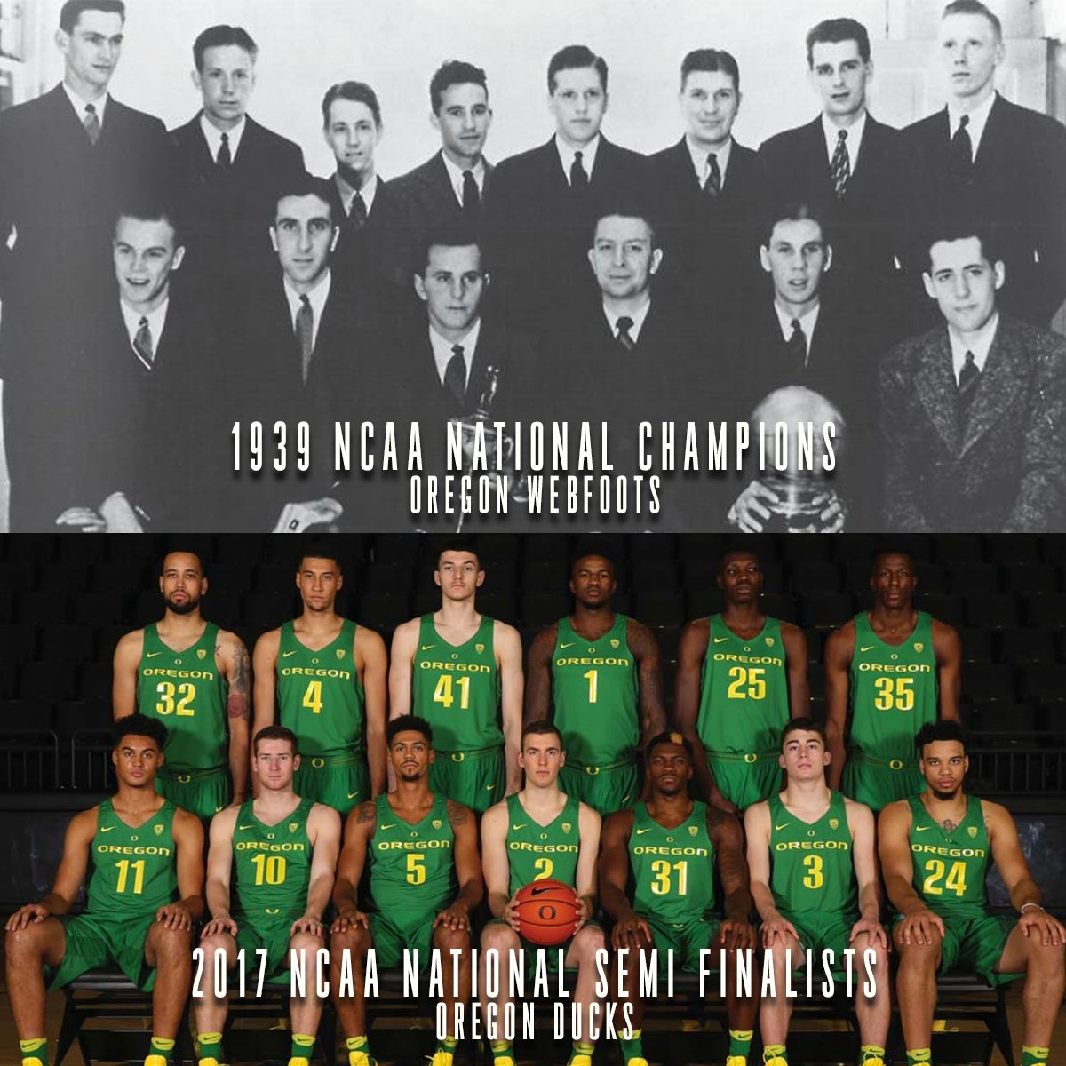 The 78-year wait is over! #FinalFour #GoDucks https://t.co/24ojukf30n