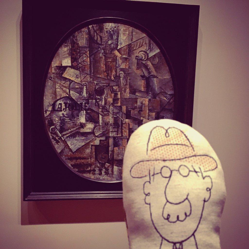 Ok. Braques. Le mec ne sait faire aucun choix. Il peint des trucs sur des machins.  #Moma #NY #CharlieTrip<br>http://pic.twitter.com/lu9B6SlNkH