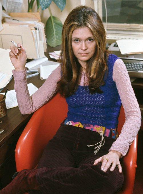 Happy Birthday to one of our favorite OG boss ladies, Gloria Steinem