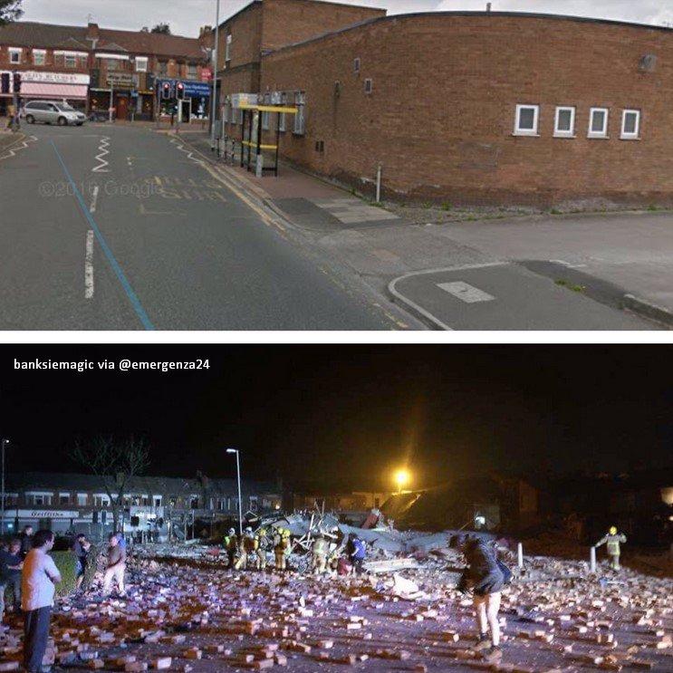 DETALLES: El estallido en Merseyside habría afectado a dos edificios h...