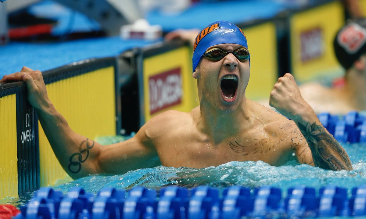 CAELEB. DRESSEL. 40.00 IN THE 100 FREESTYLE! FASTEST MAN ON THE PLANET!! https://t.co/llEO7Bqw09