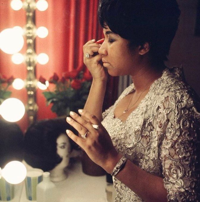 The Queen. Happy Birthday to my Detroit homegirl, Aretha Franklin.