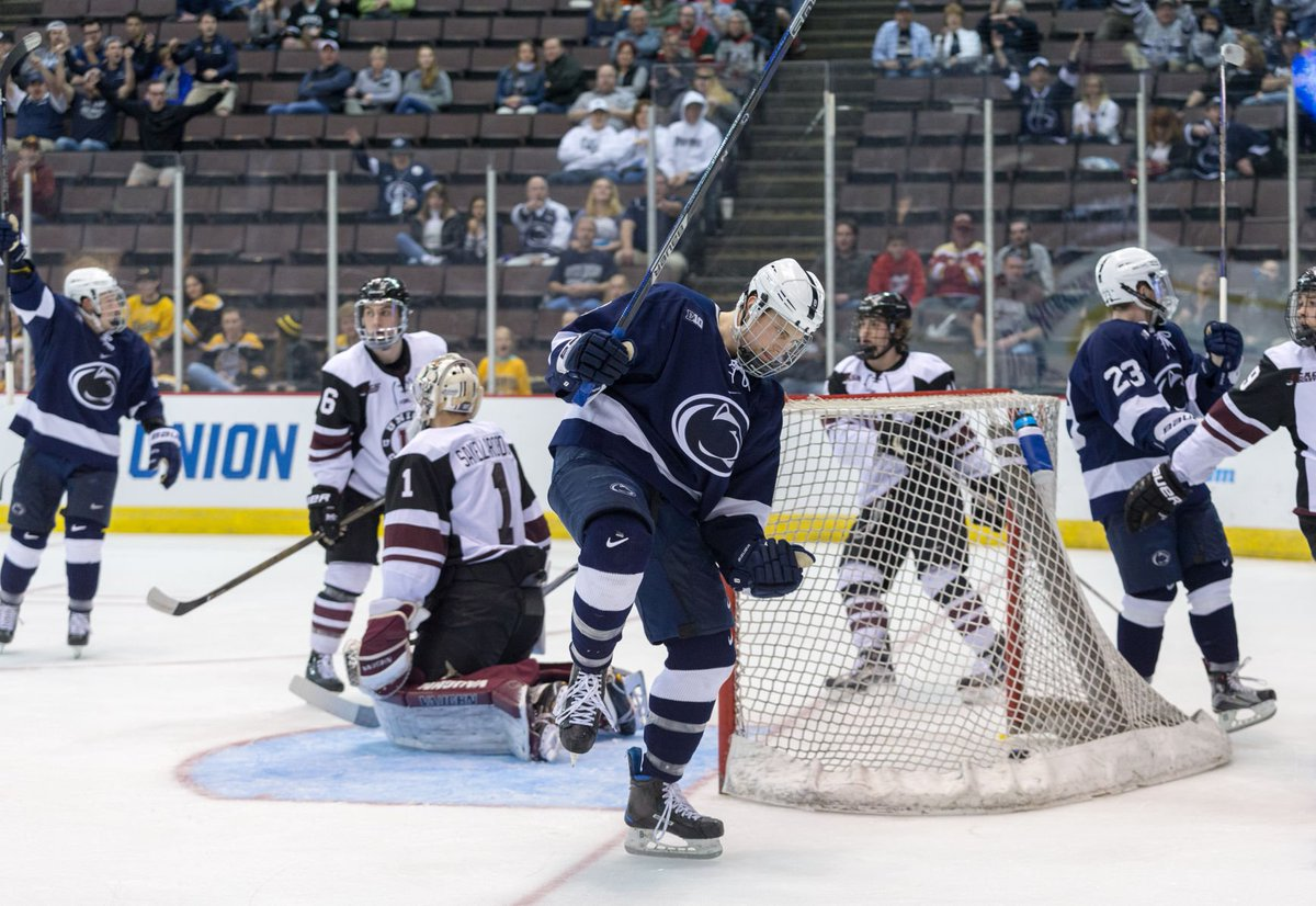 RECAP: @PennStateMHKY blows out Union, one win away from Frozen Four b...