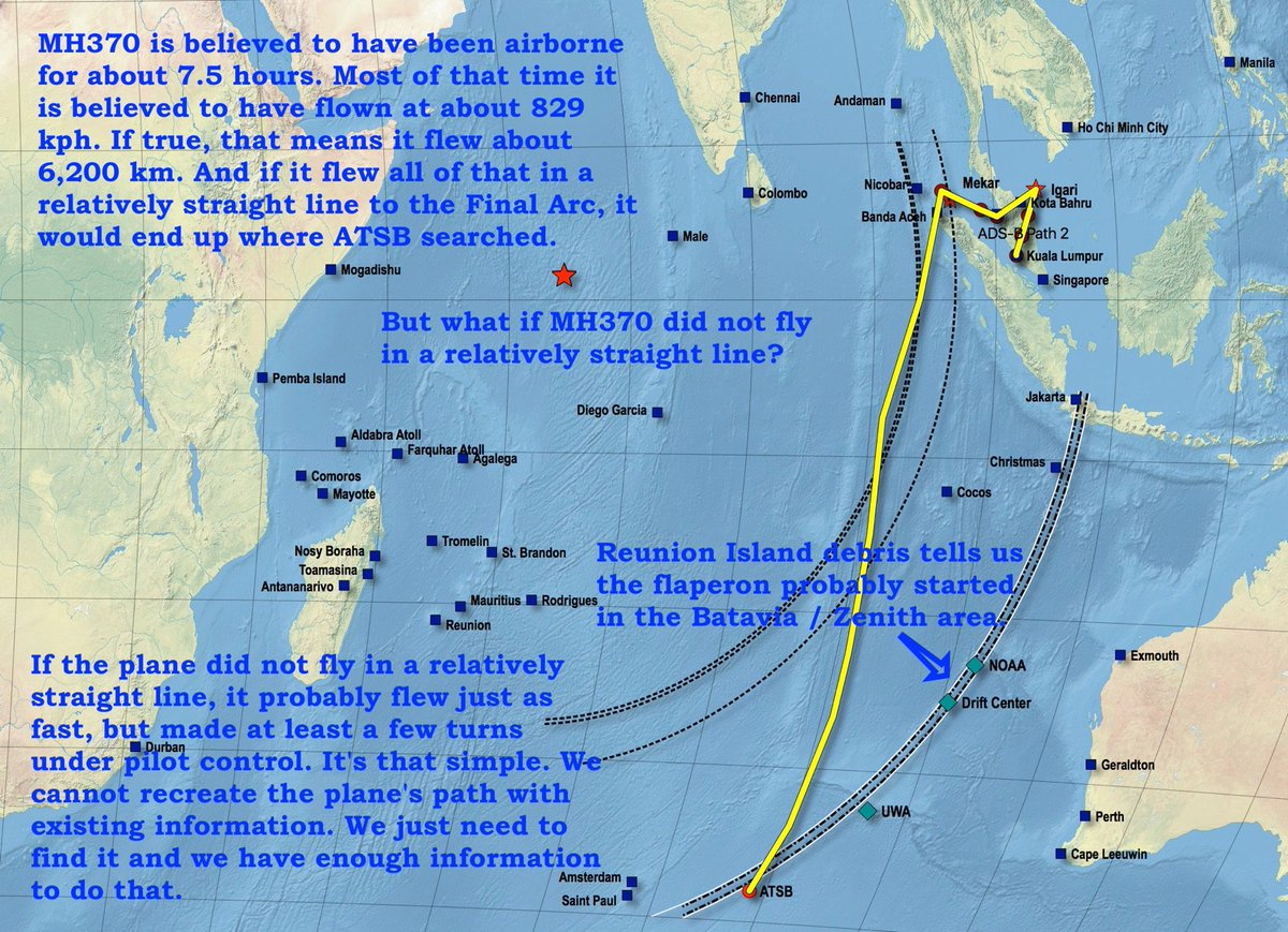#MH370 Here is Part II of today's project. The plane was probably under pilot control. No way to know who the pilot was, and no guesses. <br>http://pic.twitter.com/Zu1haLHPnc