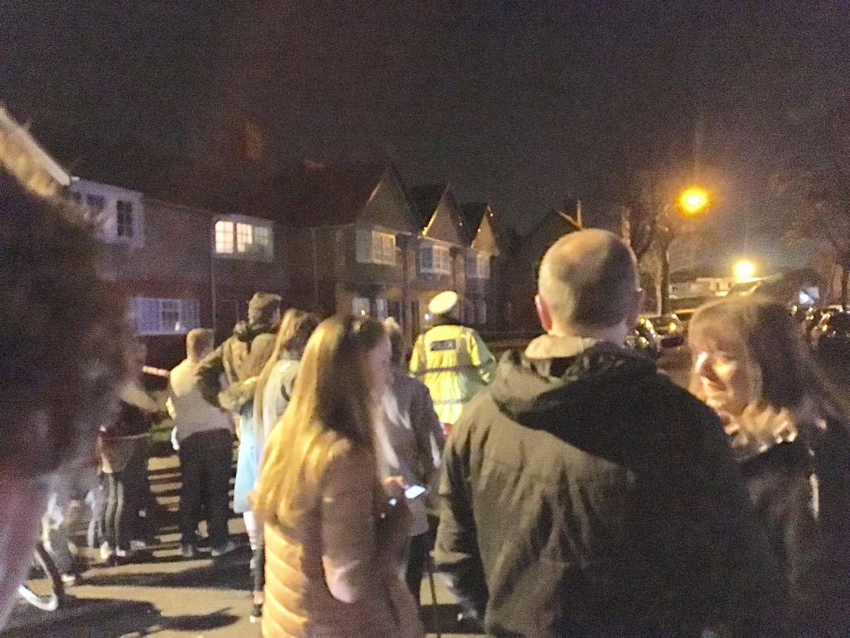 Many people are displaced tonight following the New Ferry explosion #N...