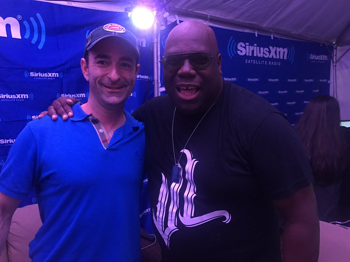 What an honor to interview the legend @Carl_Cox!! https://t.co/WjL2aMZEVE