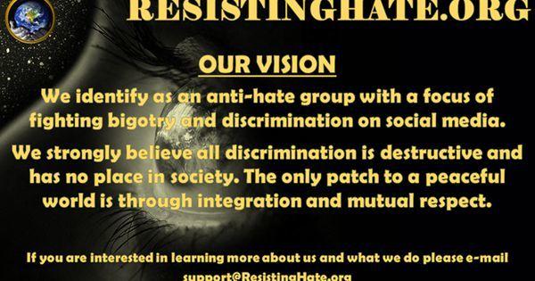 Our vision -  https:// goo.gl/fUJn90  &nbsp;   #ResistingHate #TheResistance #OpResistance #ResistTrump<br>http://pic.twitter.com/5Y2jShxYnc