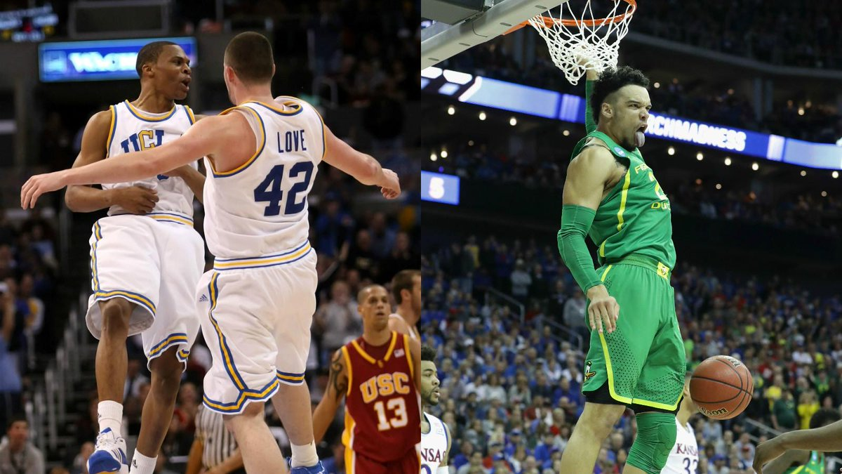 Say goodbye to that drought.  Oregon becomes the first Pac-12 team in the Final Four since Russell Westbrook, Kevin Love and UCLA in 2008.