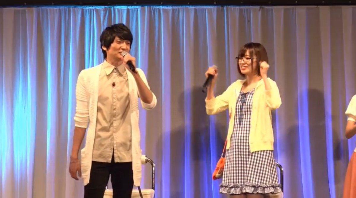高橋さんがマシュの私服衣装で登場! 自分で買ってきたらしいです!  かわいい  #FateGO #FGO