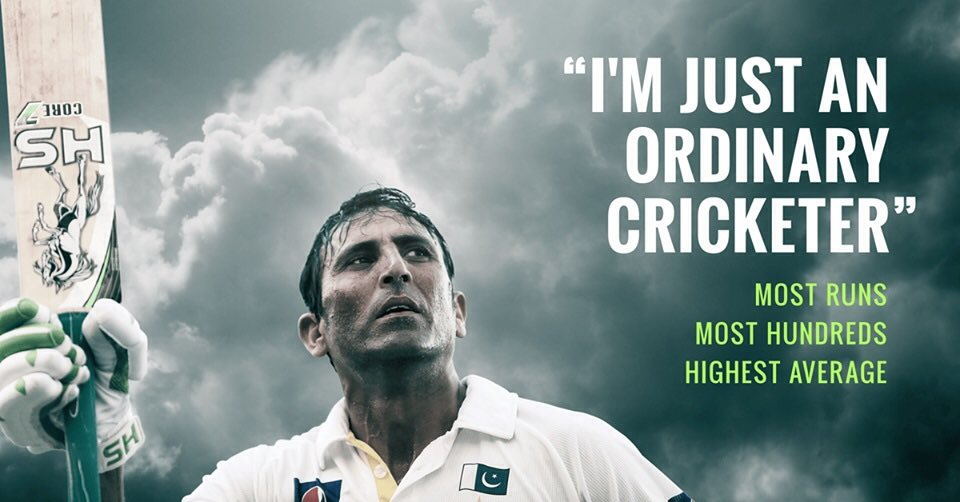 """Kill them with Success & Bury them with a Smile "". Younis Khan did that Flawlessly Farewell #Legend ♥ 🙋"