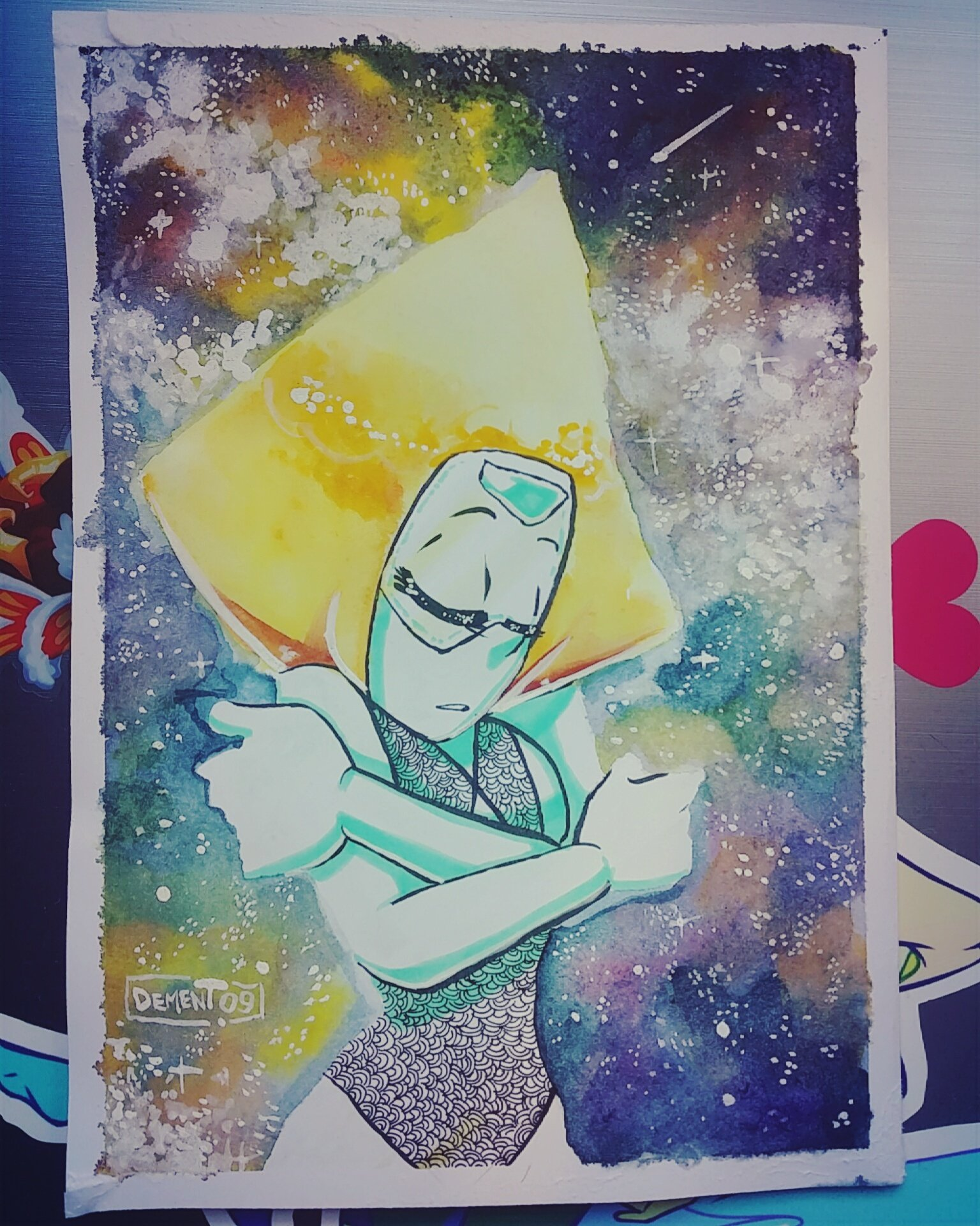 """""""Decided to add a Peridot as well!"""""""