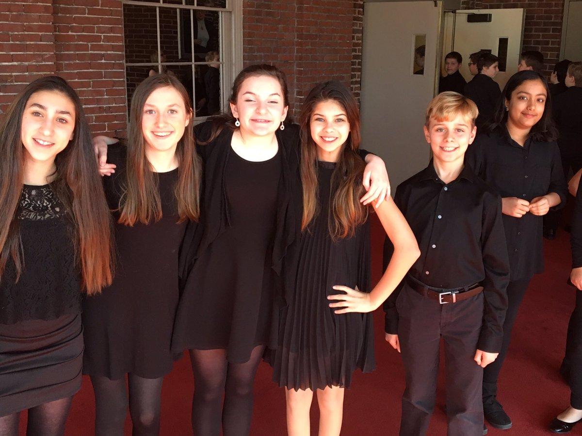 Black dress 8th grade impressionist