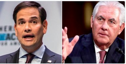 #nbc #foxnews #rubio  Rubio needs to keep his mouth shut he's reverting back to little Marco . Tillerson knows what he is doing.#trump<br>http://pic.twitter.com/vuxxKYby6r