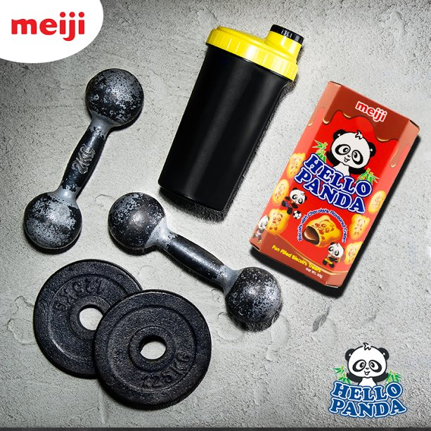 O Panda On Twitter Drained After Going To The Gym Get A Opandafun Workout Snack Bring Your Energy Back Up Opanda Meiji Opandame