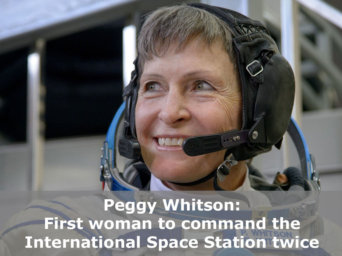 Today, @AstroPeggy becomes Commander of the @Space_Station for the 2nd time. Congratulations! https://t.co/ySV37KZ59R