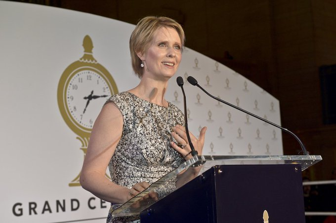 Happy birthday to American actress Cynthia Nixon!
