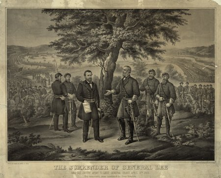 Today in History: Lee Surrenders - learn from #primarysources https://t.co/VKUAjbVJn1 #tlchat #sschat #edchat #CivilWar #history https://t.co/ygVc0nShES