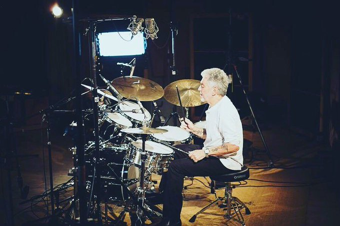 Happy birthday Steve Gadd yiki do dun Steve Gadd