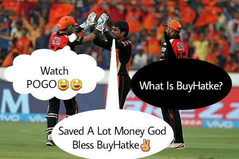 @BuyHatke Here is My 1st Meme✌ #hatkeway #IPL2017 #SRHvGL #IPLFantasy https://t.co/XYo1nyQeyo