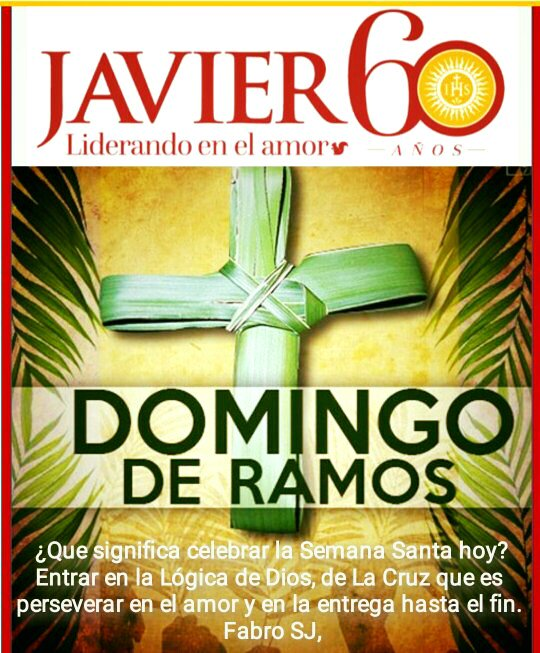 Unidad Educativa Javier Auf Twitter Feliz Domingo De Ramos Familia