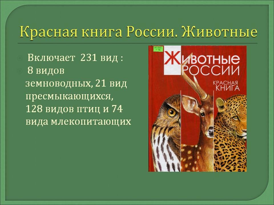 сообщение о красной книге картинки блестящую творческую карьеру