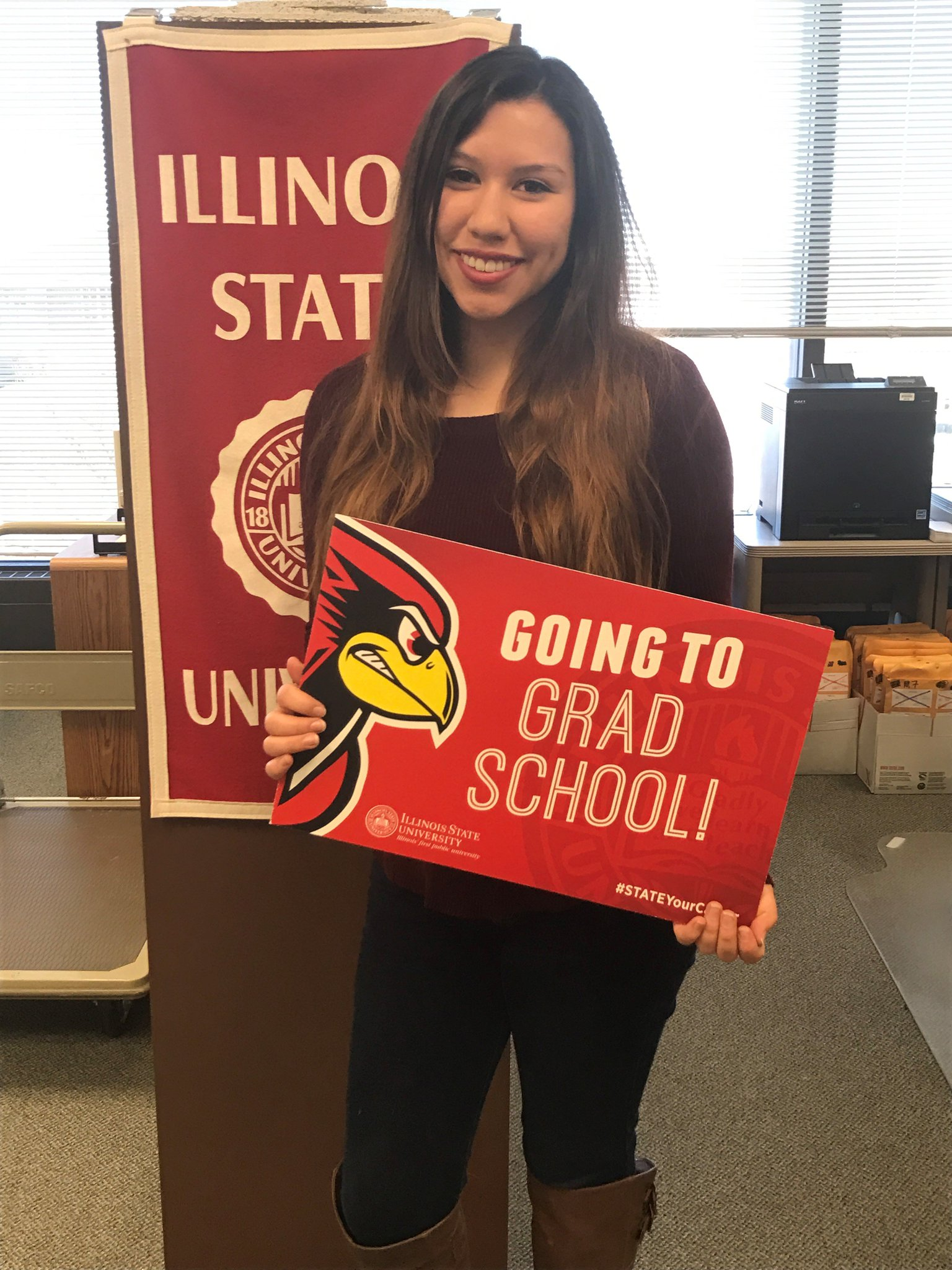 Congrats to Nicole Landa on getting into grad school! #STATEYourCareer https://t.co/vvzhB1j88n