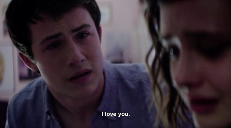 A scene that left everyone emotionally unstable. #13ReasonsWhy 😭