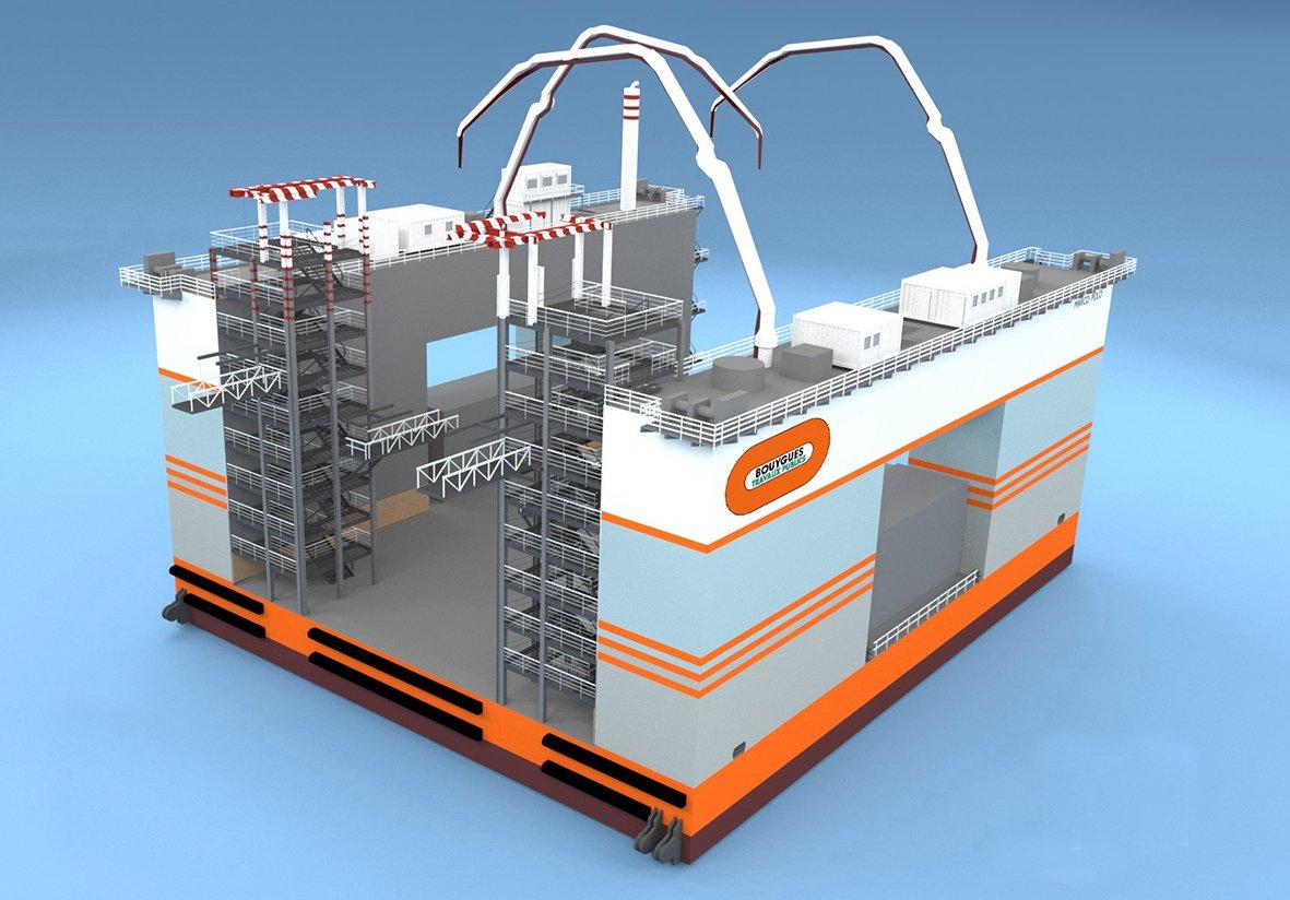 Bouygues construction choisit le port de marseille pour for Caisson maritime