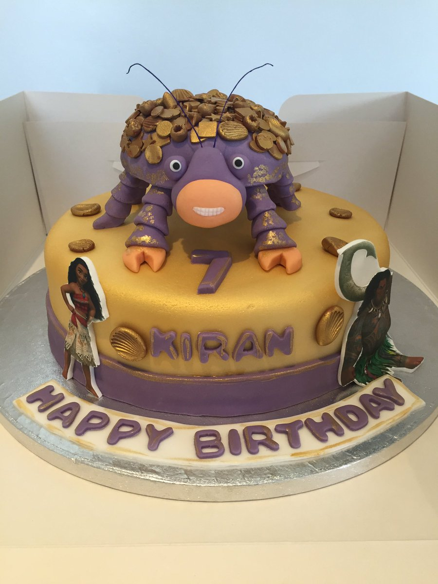 Xannas Cakes On Twitter Moana Maui Tomatoa Crab Httpstco - Maui birthday cakes
