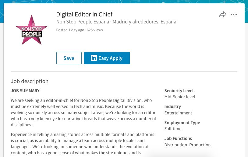 Digital Editor Job Description Job Description Digital Marketing