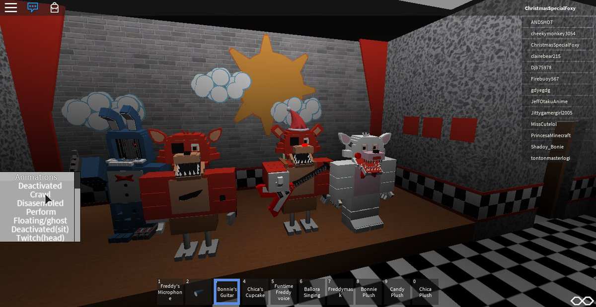 Game Over Gamers On Twitter Me And The Gang Enjoying Some - roblox fnaf fan game